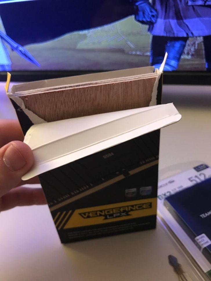 брусок в упаковке