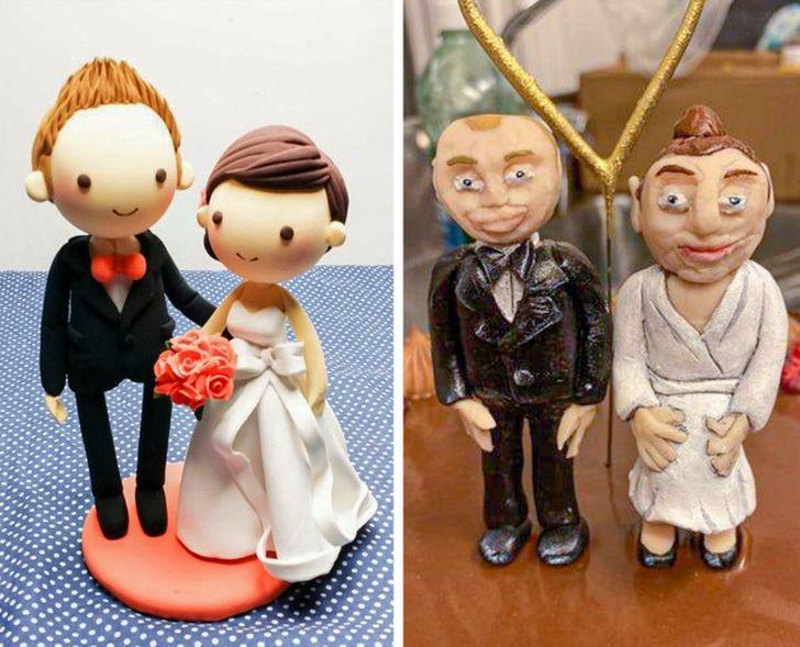 фигурка жениха и невесты для торта