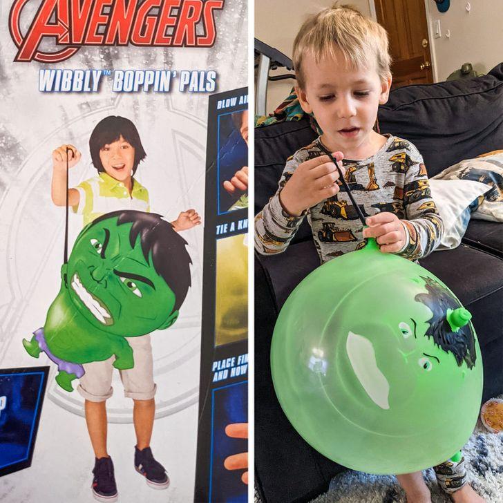 мальчик с зеленым воздушным шаром