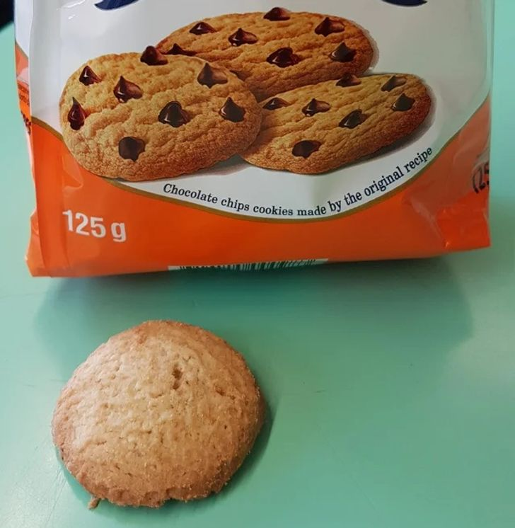 печенье из пачки