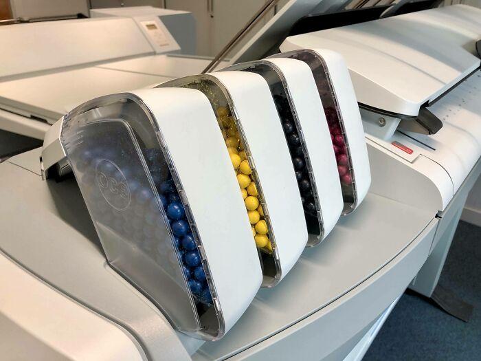 краска в шариках для принтера